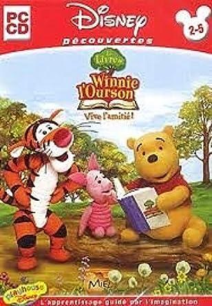 Le Livre De Winnie L Ourson Vive L Amitie 2 5 Ans Cd