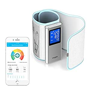 Koogeek Wireless Blood Pressure Monitor FDA Approved Digital Upper Arm Cuff, Bluetooth or Wifi Compatible for Apple and Android Devices