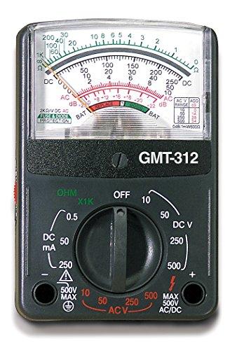 032076072988 - Gardner Bender GMT-312  Analog Multimeter, 5 Function / 12 Range, 300V AC/DC, for AC / DC Voltage & Current, Resistance, Continuity & Batteries carousel main 4