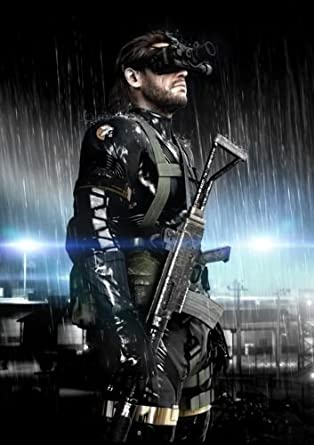 Metal Gear Solid V Ground Zeroes Poster by Metal Gear Solid V ...