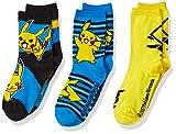 Pokemon Little Boys 3 Pack Crew Socks