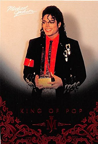 Michael Jackson trading card 2011 King of Pop #102 American Music Award from Autograph Warehouse