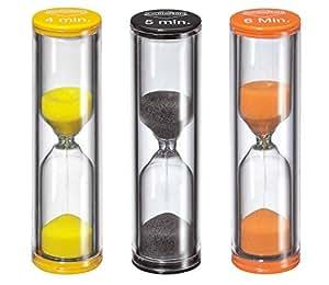 Kuchenprofi Sand Egg Timer Set, Set of 3