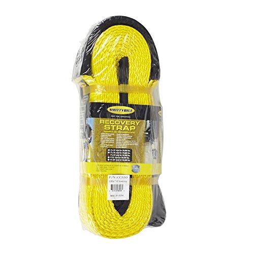 Smittybilt CC330 3″ x 30′ Recovery Strap – 30,000 lb Capacity
