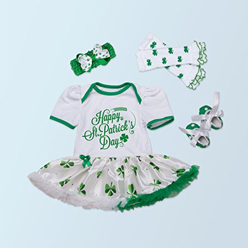 AISHIONY Baby Girl 1st St Patricks Day Outfit Newborn