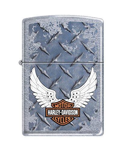 Zippo Harley-Davidson Wings Street Chrome Pocket Lighter