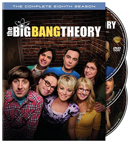 DVD : The Big Bang Theory: The Complete Eighth Season (, Slipsleeve Packaging, 3 Pack, 3 Disc)