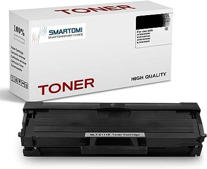 SMARTOMI - 1 cartucho de tóner negro MLT-D111S compatible con ...