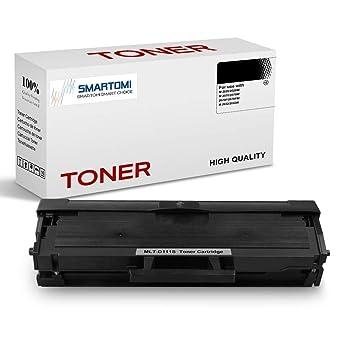 SMARTOMI - 1 cartucho de tóner negro MLT-D111S compatible con cartuchos Samsung MLTD111S para impresoras Samsung Xpress SL M2026, M2020, M2070, M2022 ...