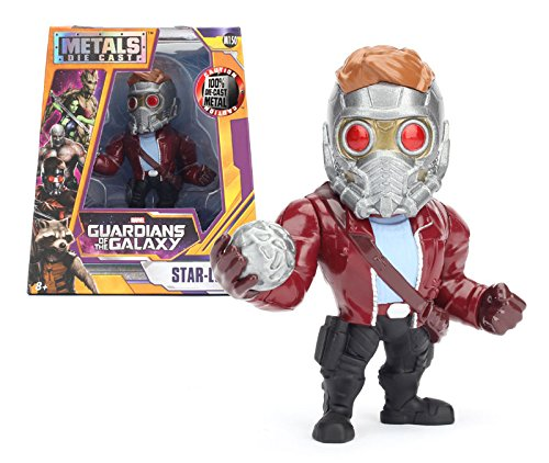 Jada Toys Metals Guardians of The Galaxy 4 Movie Figure - Star Lord (M150) Toy Figure
