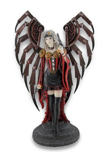 Anne Stokes `Avenger` Steampunk Angel Statue by Things2Die4