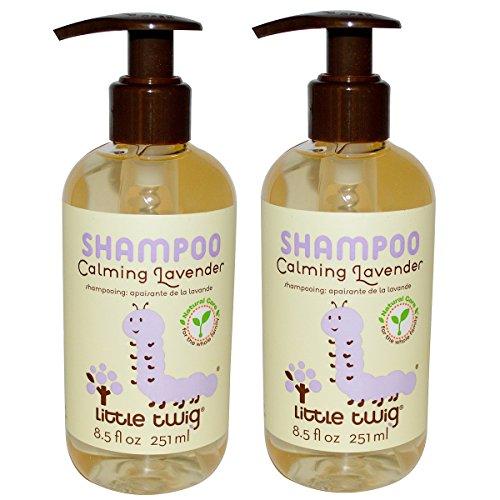 Little Twig Calming Lavender Shampoo with Lavender, Lemon and Tea Tree Oil, 8.5 fl. oz. (Pack of 2)