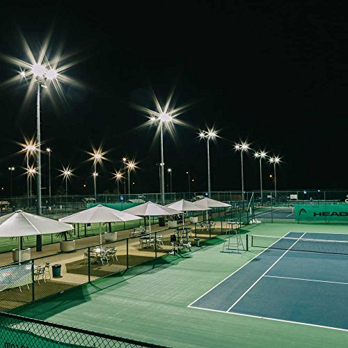 AntLux LED Flood Light 200W, Super Bright Stadium Lights, Outdoor Parking Lot Shoebox Arena Perimeter and Security Lighting fixtures, (1200W Equivalent), 26000LM, 5000K, IP66 Waterproof LED Floodlight by ANTLUX (Image #3)