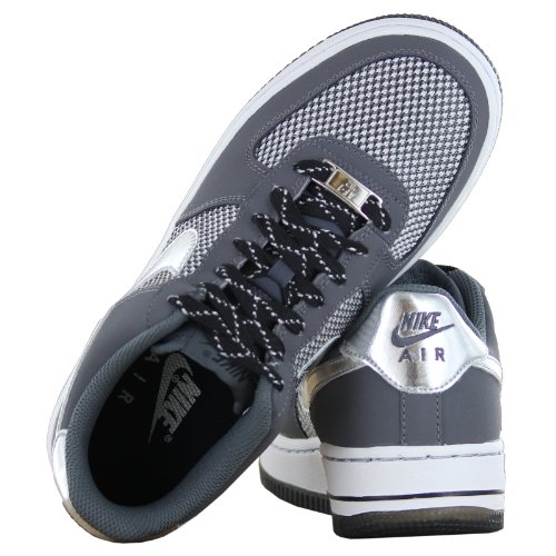 Nike Air Force 1 LE Grey Black Youths Trainers Size 35.5 EU