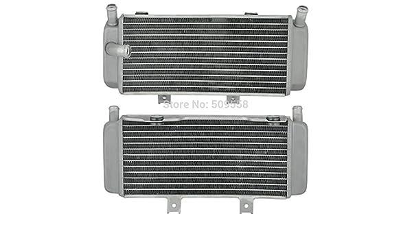 Fincos for Honda CRF450X 2005 2006 2007 2008 CRF450 X CRF 450X 2005-2010 Motorcycle Parts Aluminium Cooling Radiator Left