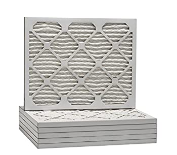 Aerostar Pleated Air Filter, Merv 13, 20x25x1, Pack Of 6, Made In The Usa 2