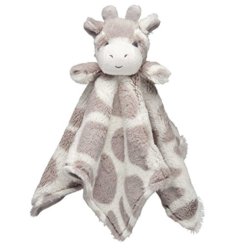 Elegant Baby Blankie Giraffe, Beige, 15