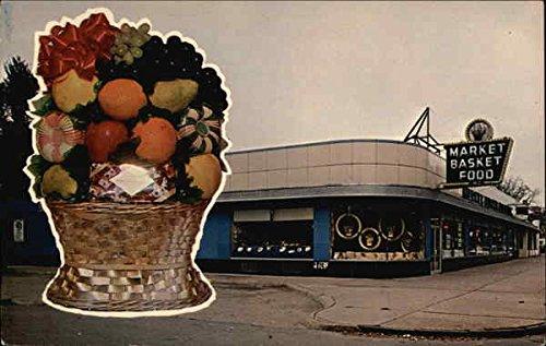 Market Basket Food Inc Detroit, Michigan Original Vintage Postcard