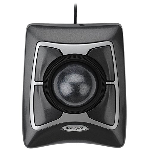Trackball Expert Mouse, ScrollRing, Black/Silver