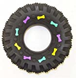 Ethical Squeaky Vinyl Tire Dog Toy, 3-1/2-Inch, My Pet Supplies