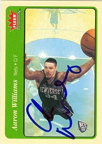 Aaron Williams autographed Basketball Card (New Jersey Nets) 2004 ...