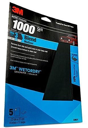 "9/"" x 11/"" 3M 02038 Wetordry Sheet P400 Grit 2038-50 sheets"