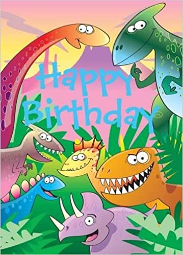 Dinosaurs - Happy Birthday Card-Book: 6 Card-Book Pack Activity: Amazon.es: Mackerel Design: Libros en idiomas extranjeros