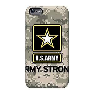 JohnPrimeauMaurice Apple Iphone 6s High Quality Hard Cell-phone Cases Provide Private Custom HD Army Series [qIz2241DbAG]
