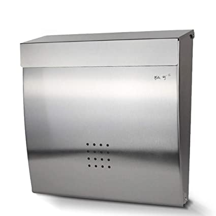 Amazon.com: Mailbox - Stainless Steel, With Lock Wall ...
