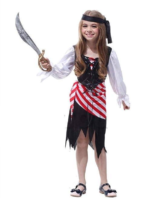 Lovelegis Disfraz de Pirata niña - Pirata niña - Disfraz ...