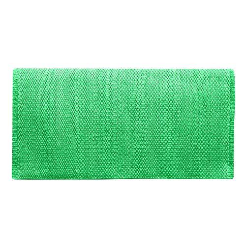 Mayatex San Juan Solid Saddle Blanket, Kelly Green, 36 x 34-Inch ()