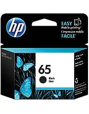 Original HP 65 Black Ink Cartridge | Works with HP AMP 100 Series, HP DeskJet 2600, 3700 Series, HP ENVY 5000 Series | Eligible for Instant Ink | N9K02AN