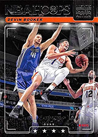 17cc4980639bd Amazon.com: 2018-19 Panini Hoops Lights Camera Action #26 Devin ...