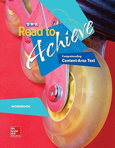 Read to Achieve: Comprehending Content Area Text, Workbook: Comprehending Content Area Text Workbook