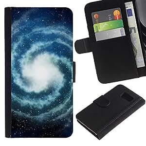 All Phone Most Case / Oferta Especial Cáscara Funda de cuero Monedero Cubierta de proteccion Caso / Wallet Case for Sony Xperia Z3 Compact // Milky Way Universe Space Stars