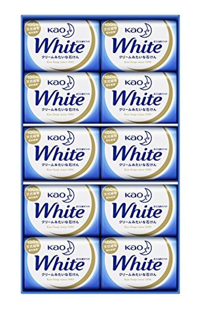 より平らなきょうだいスポーツ花王ホワイト ギフト 85g 10コ K?W-10