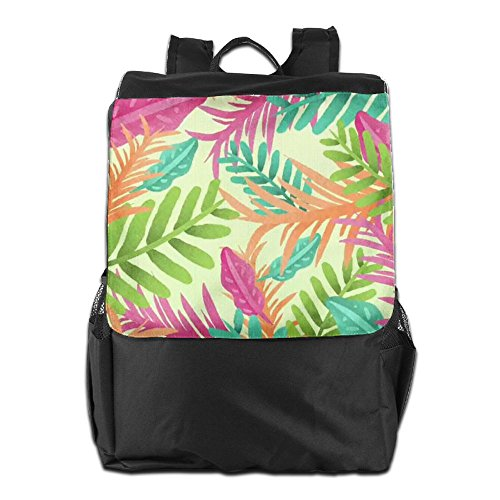 Dayback Women Backpack School Shoulder Colorful for Personalized Camping and Leaves Men HSVCUY Storage Outdoors Travel Adjustable Strap 76fwqC