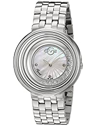 GV2 by Gevril Women's 1600 'Vittorio' Swiss Quartz Stainless Steel Casual Watch