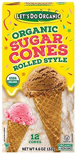ar Cones, 12-Count Boxes (Pack of 12) (Gluten Free Organic Ice Cream)