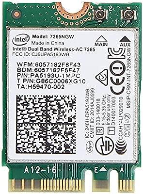 JIALIUJ® - WLAN para portátil Intel 7265NGW Dual Band ...