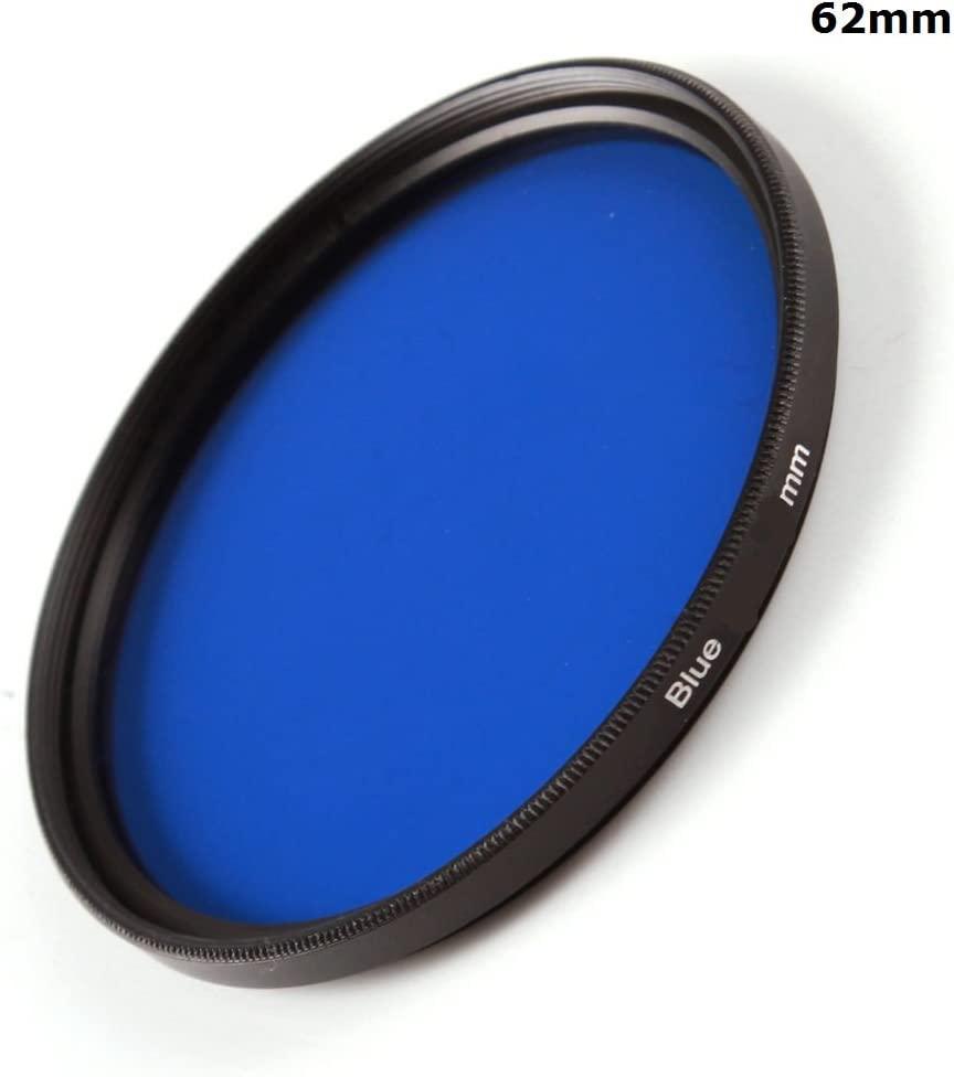 49mm 1pcs 30mm 37mm 40.5mm 43mm 46mm 49mm 52mm 55mm 58mm 62mm 67mm 72mm 77mm 82mm Full Blue Color Lens Filter Protector