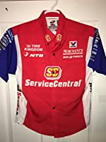 Small Johnny GRAY NHRA Don Schumacher Crew Shirt Drag Race Funny Service Central USA Racing