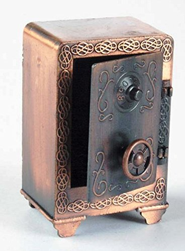 Antique Safe Die Cast Metal Collectible Pencil Sharpener