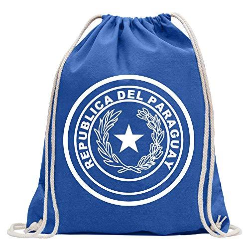Paraguay coat of arms bagpack printed Design Print Gift Idea