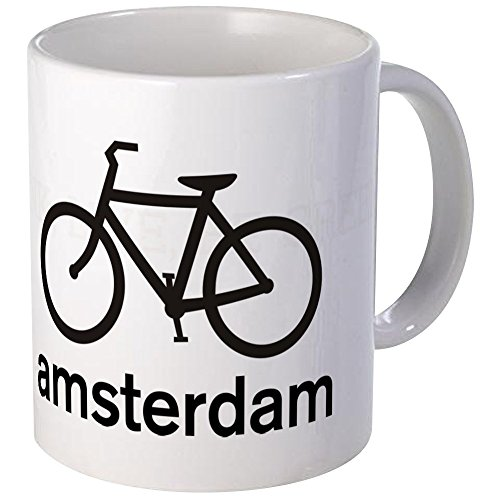 CafePress Bike Amsterdam Mug Unique Coffee Mug, Coffee Cup