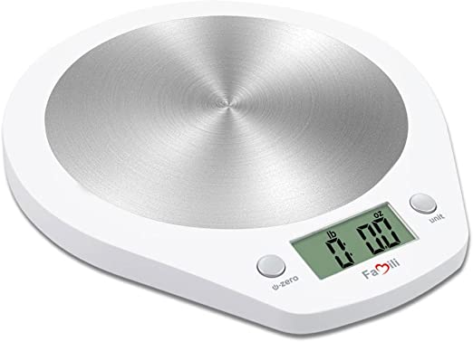 Electronic Kitchen Scale Multifunction For Food /& Liquiods Smart Weigh 11lb//5kg