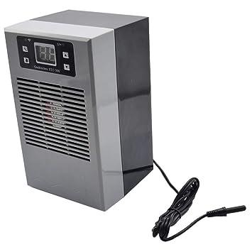 SODIAL Enchufe de La UE?1Pc 20L 70W Enfriador de Agua?WiFi Controlador de Temperatura del Agua Compatible?para La Cría de Peces: Amazon.es: Productos ...