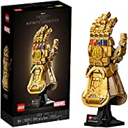 LEGO Marvel Infinity Gauntlet 76191 Collectible Building Kit; Thanos Right Hand Gauntlet Model with Infinity S