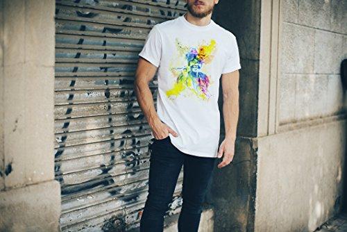 Old Lady Cuba Herren T- Shirt , Stylisch aus Paul Sinus Aquarell Color