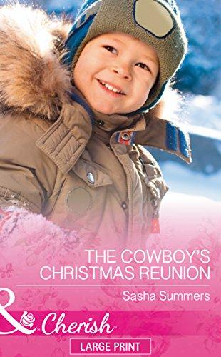 book cover of A Cowboy\'s Christmas Reunion